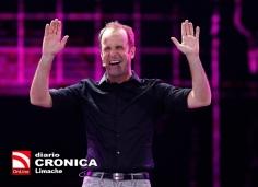 22 de Febrero del 2018/VIÑA DEL MAR El humorista chileno, Stefan Kramer se presenta , durante la la Tercera noche de la 59 versión del Festival de la Canción de Viña del Mar 2018. FOTO: RODRIGO SAENZ/AGENCIAUNO